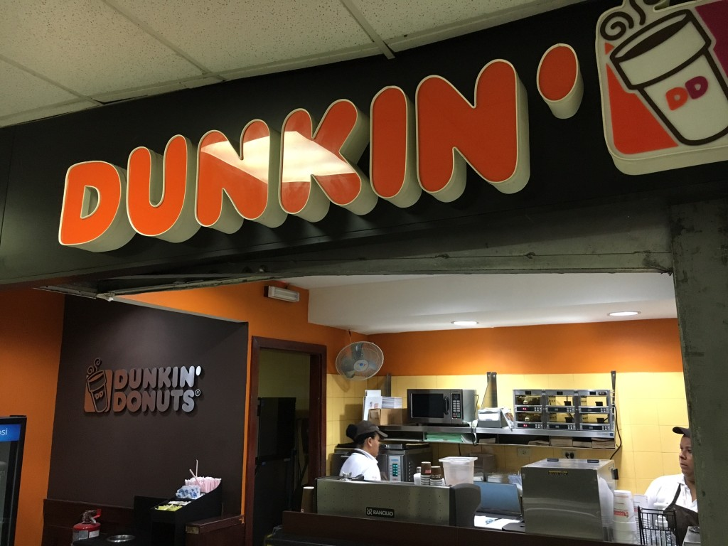 Dunkin at PTY